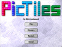 PicTiles title screen